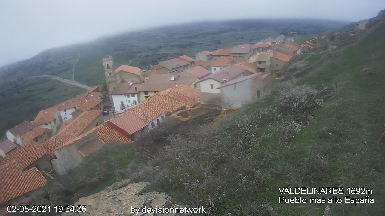 Веб камера Замок Алькала-де-ла-Сельва