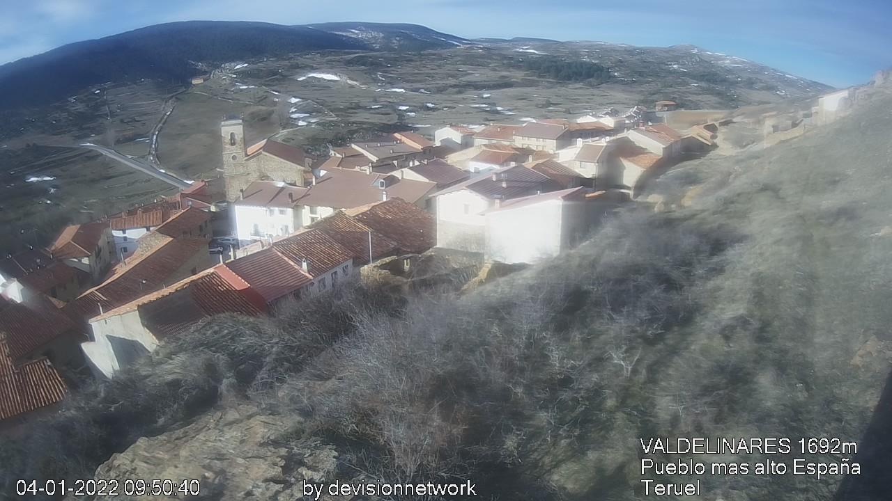 Webcam en Valdelinares (Pueblo)